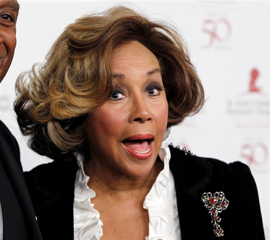 Diahann Carroll. Photo: Reuters