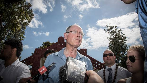 Don Brash speaks says the British Government is meddling in New Zealand race relations. Photo: NZ...