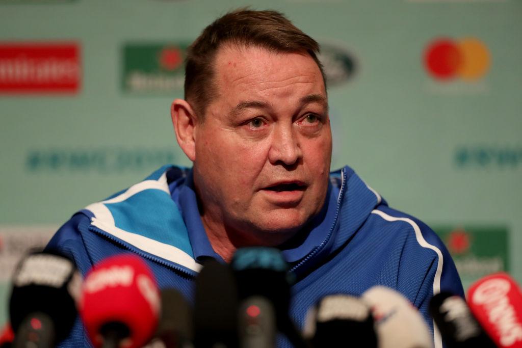 All Blacks coach Steve Hansen. Photo: Getty