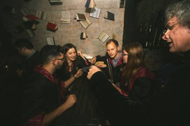 The Wizard's Cauldron will appeal to lovers of JK Rowling's books. Photo: Supplied
