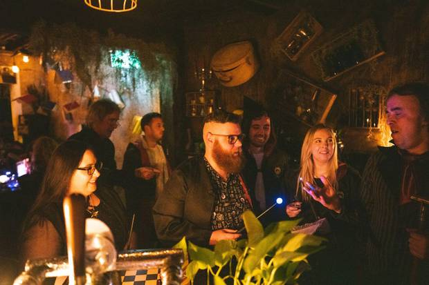 The pop-up bar has been a huge success in Sydney, Melbourne and Houston. Photo: Supplied