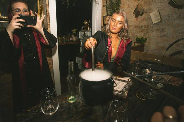 A magic-themed pop up bar is on its way to New Zealand. Photo: Supplied