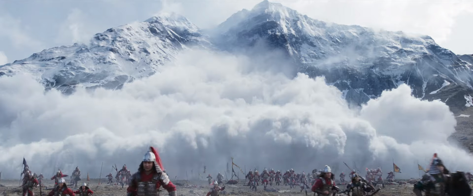 The mountains of the Ahuriri Valley form a spectacular backdrop for a new Disney offering — a...