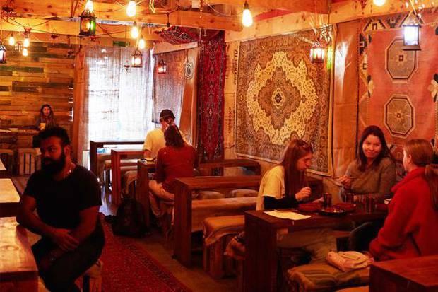 Satya Chai Lounge, Karangahape Rd. Photo: NZ Herald