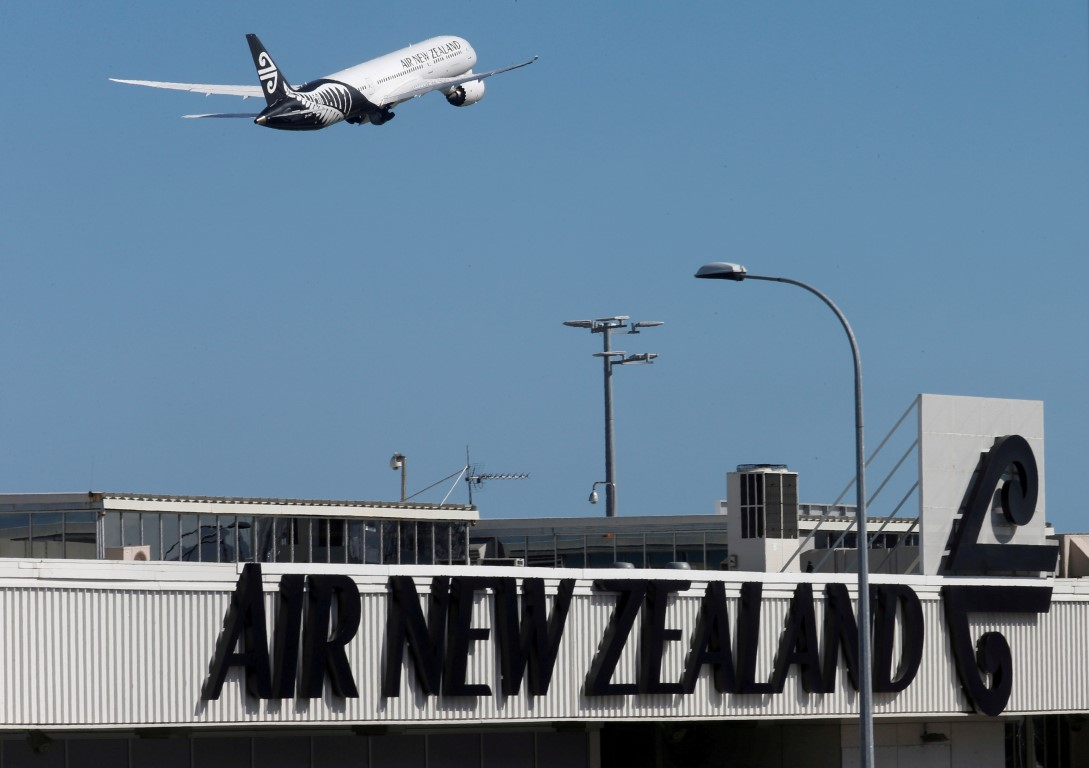 Air New Zealand is axing several international flights over the holiday period. File photo