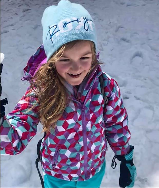 6-year-old Alexi Wheat has Pulmonary Arterial Hypertension. Photo: Supplied