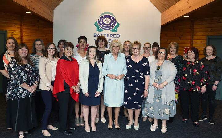 The Duchess of Cornwall met Battered Women's Trust staff and survivors, to learn about the trust...