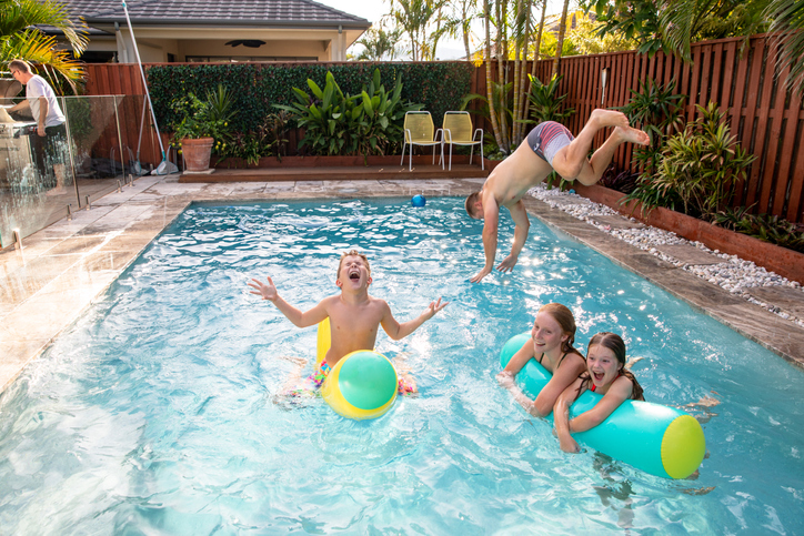 An Airbnb-type arrangement for swimming pools has launched in Australia. Photo: Getty