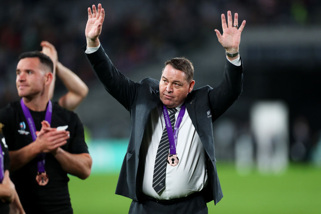 Who will replace Steve Hansen as All Blacks head coach? Photo: Getty