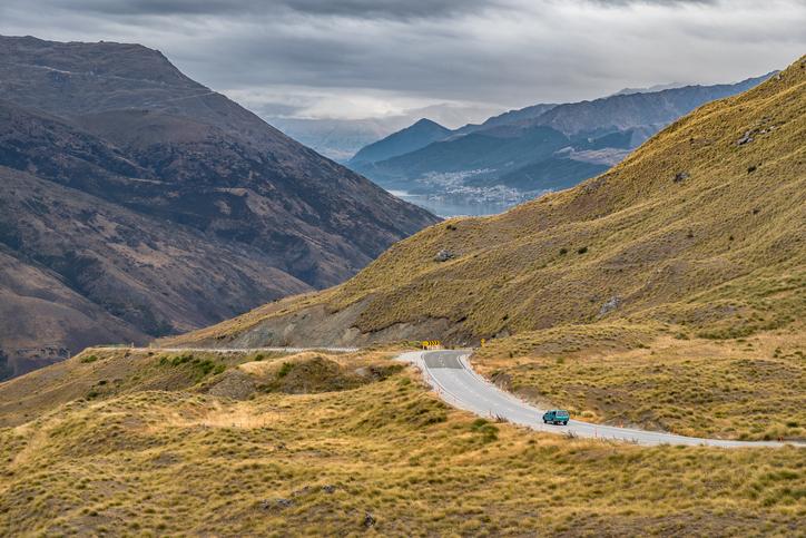 The Crown Range road. Photo: Getty