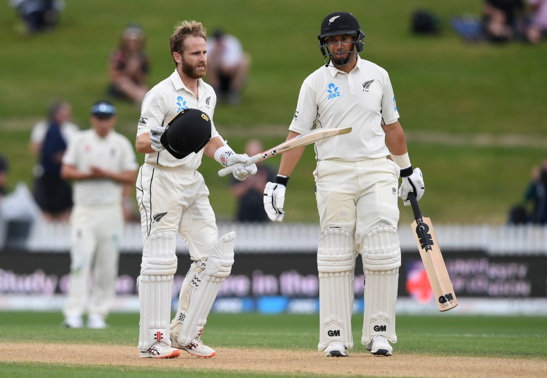 Kane Williamson survived a couple of chances to reach a century against England. Photo: Reuters