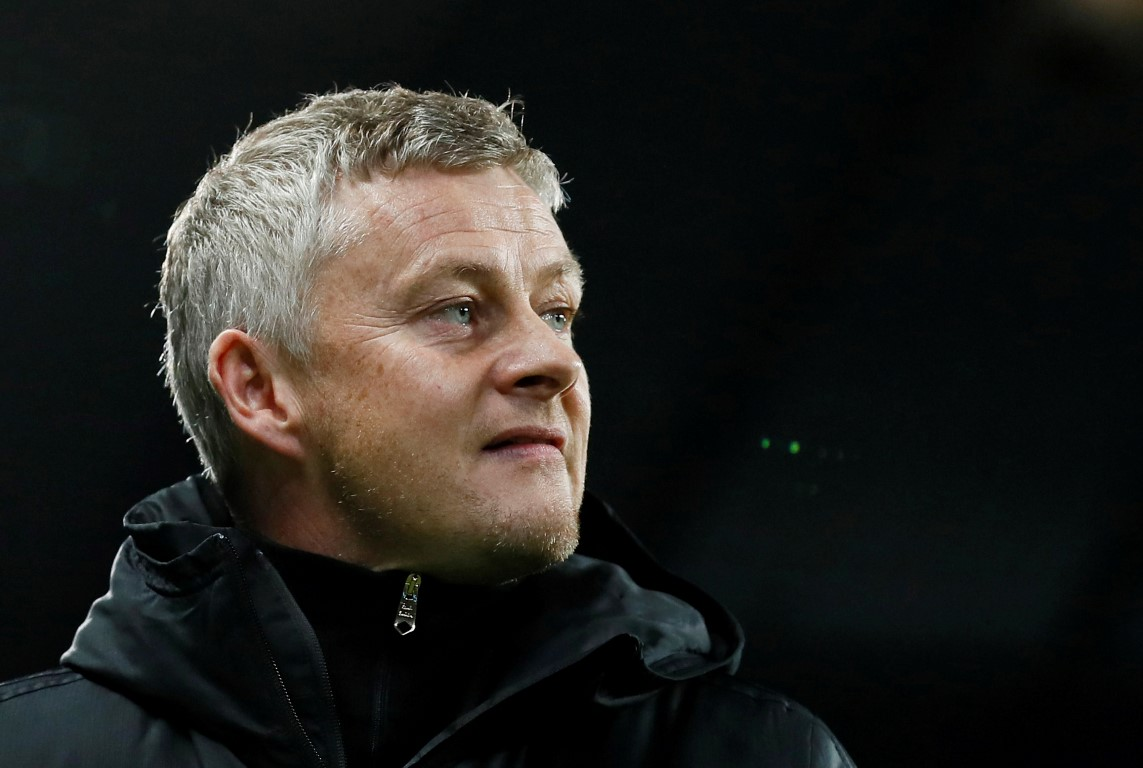 Manchester United manager Ole Gunnar Solskjaer. Photo: Reuters
