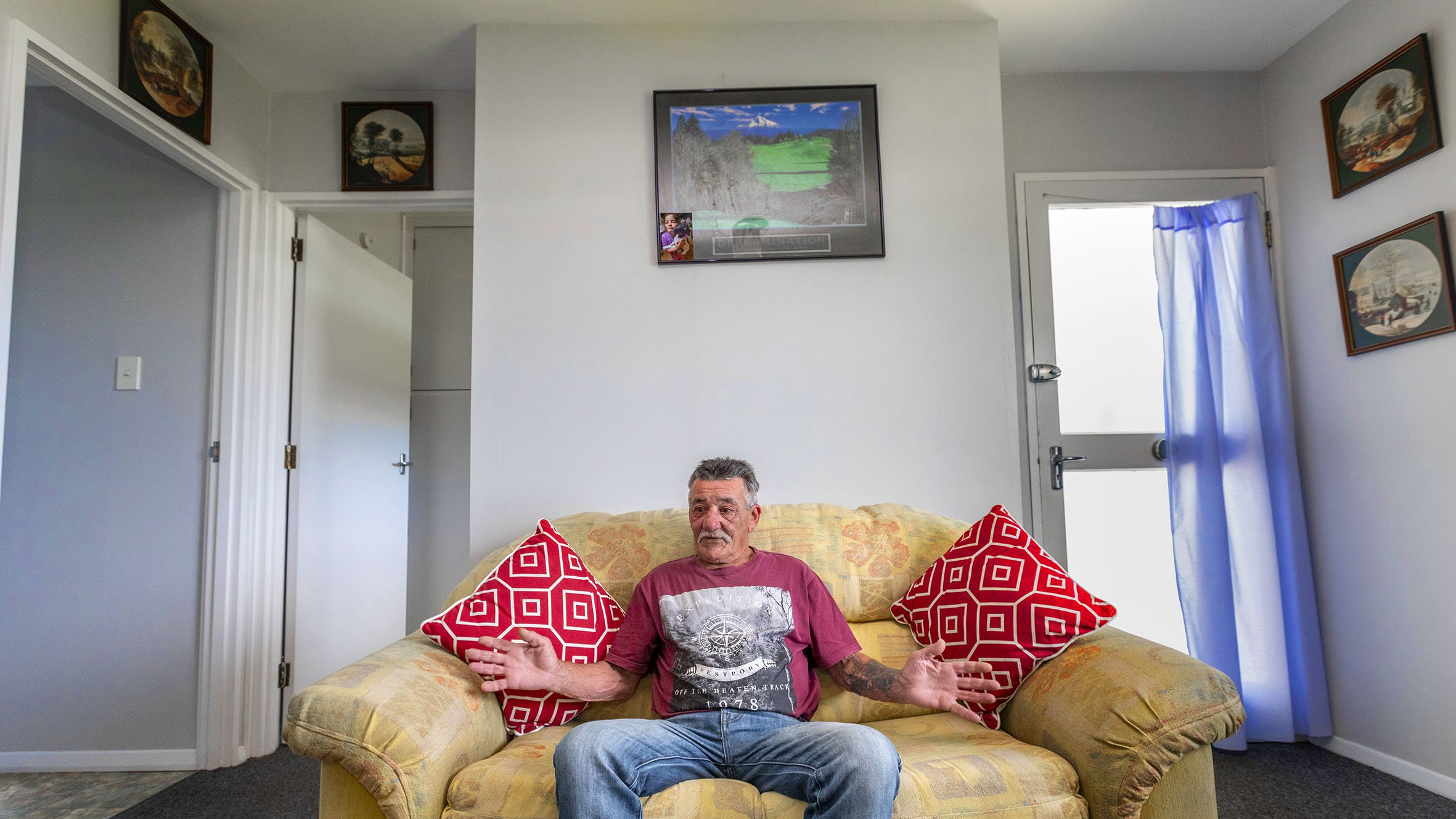 Woody moved into his own unit in late September. Photo: Newsline