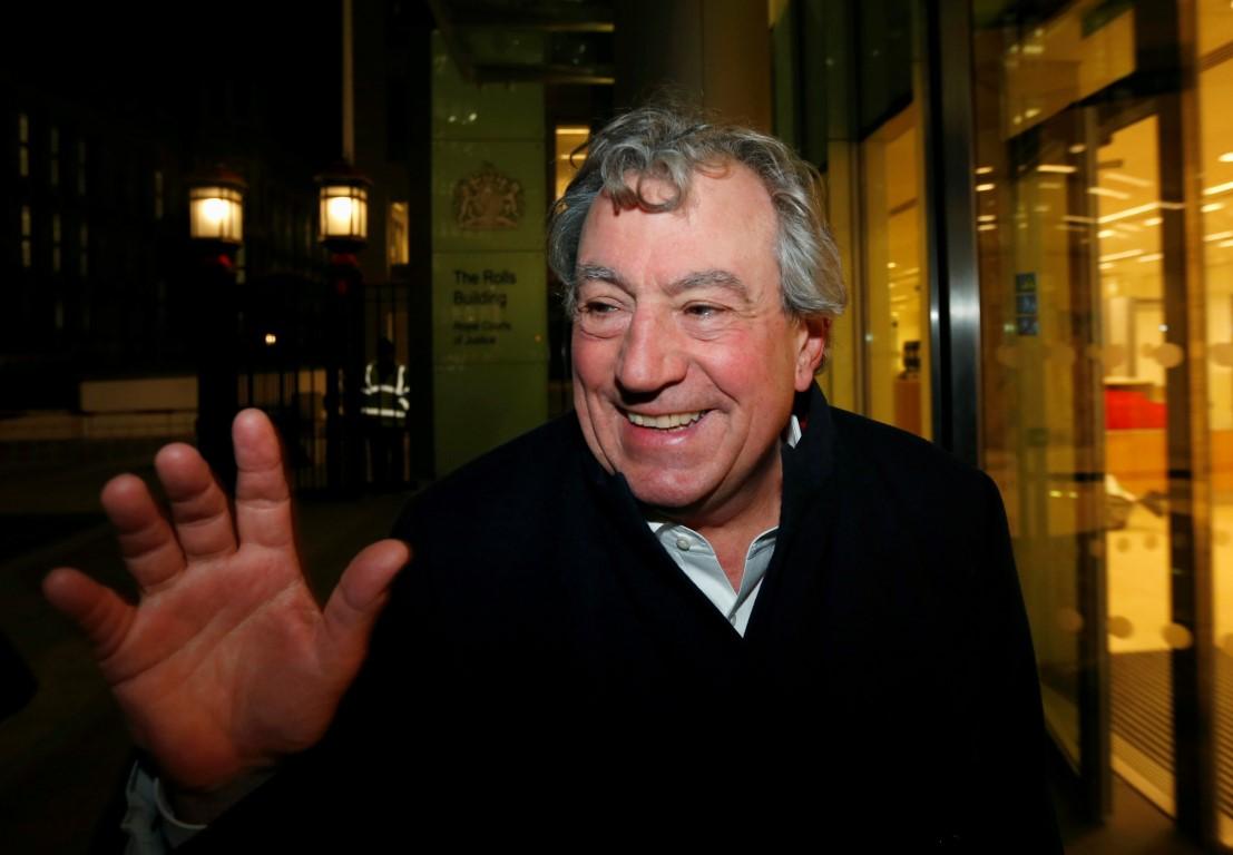 Terry Jones in 2012. Photo: Reuters