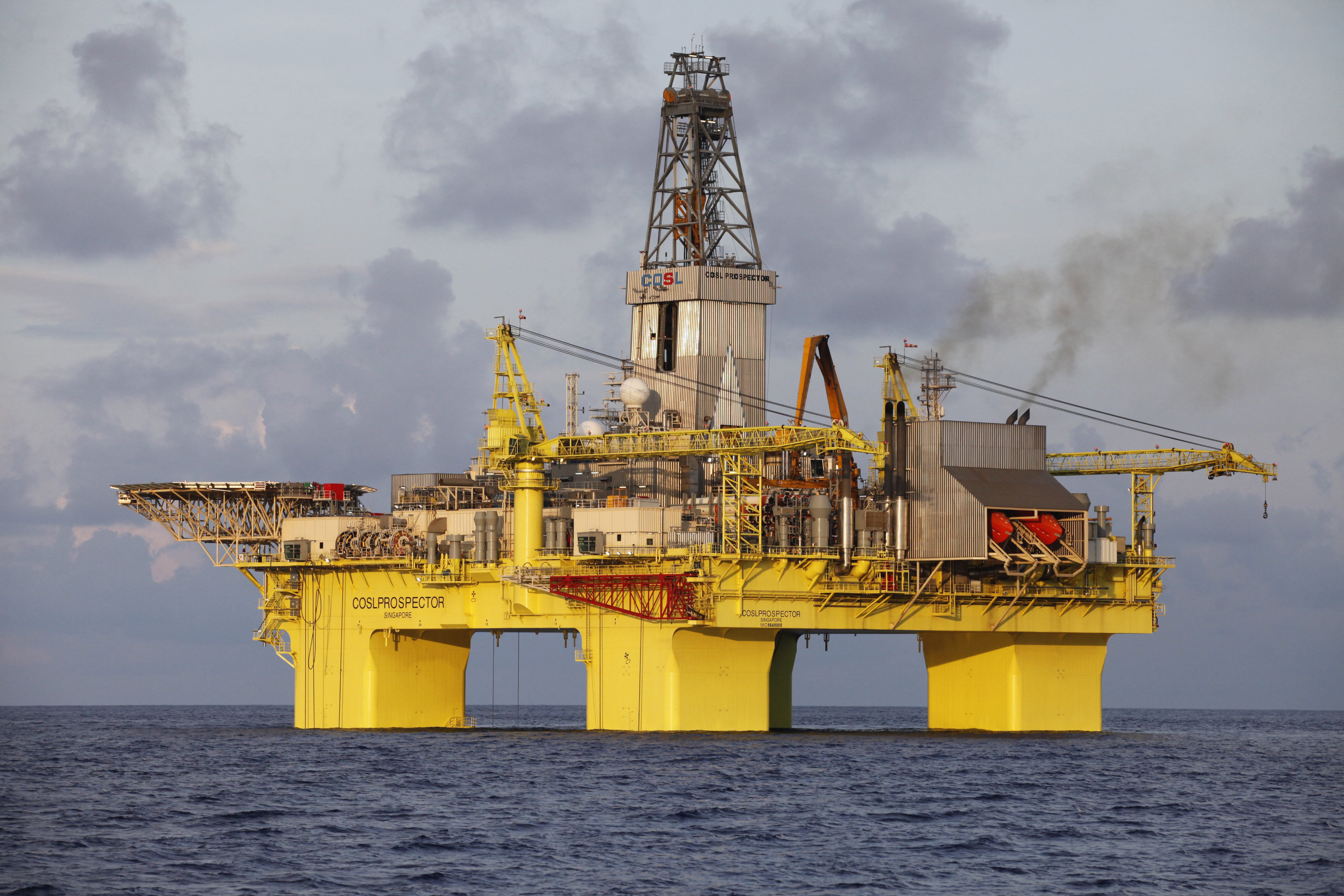 Oil Rig Nearing Drilling Site Otago Daily Times Online News