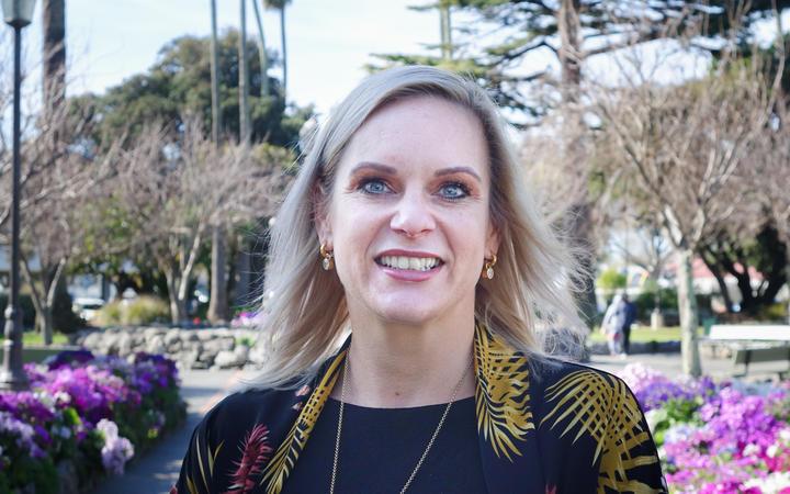 Napier mayor Kirsten Wise. Photo: RNZ