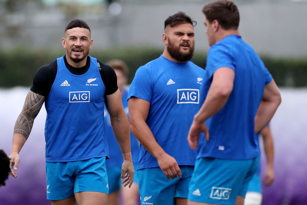 Insurance giant AIG is ending its sponsorship of the All Blacks. Photo: Getty