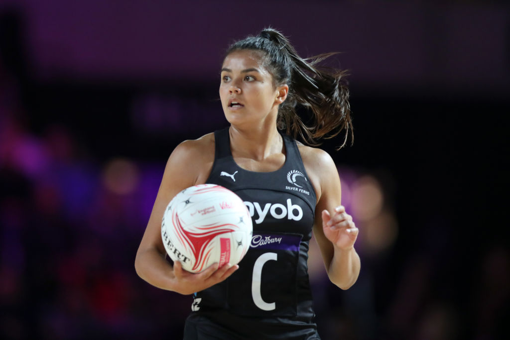 Kimiora Poi in action for New Zealand against South Africa. Photo: Getty