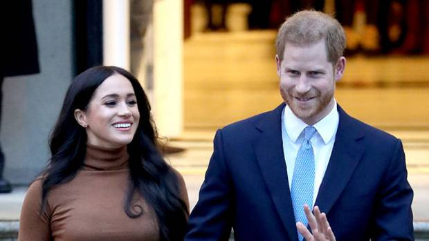 Meghan, Duchess of Sussex, and Prince Harry. Photo: Getty Images