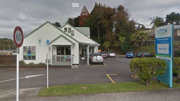 The incident happened at Top Kids in Welcome Bay, Tauranga. Photo: Google Maps