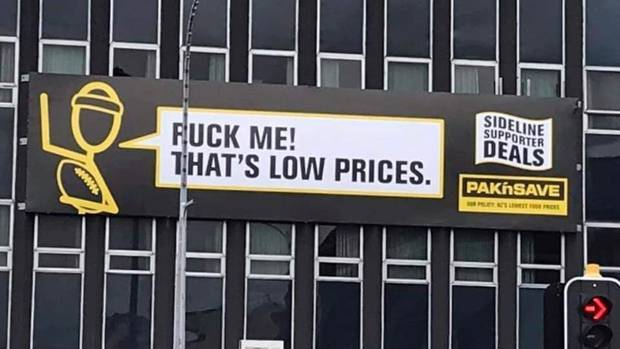 The ad also caused a bit of controversy in Palmerston North. Photo: NZH File