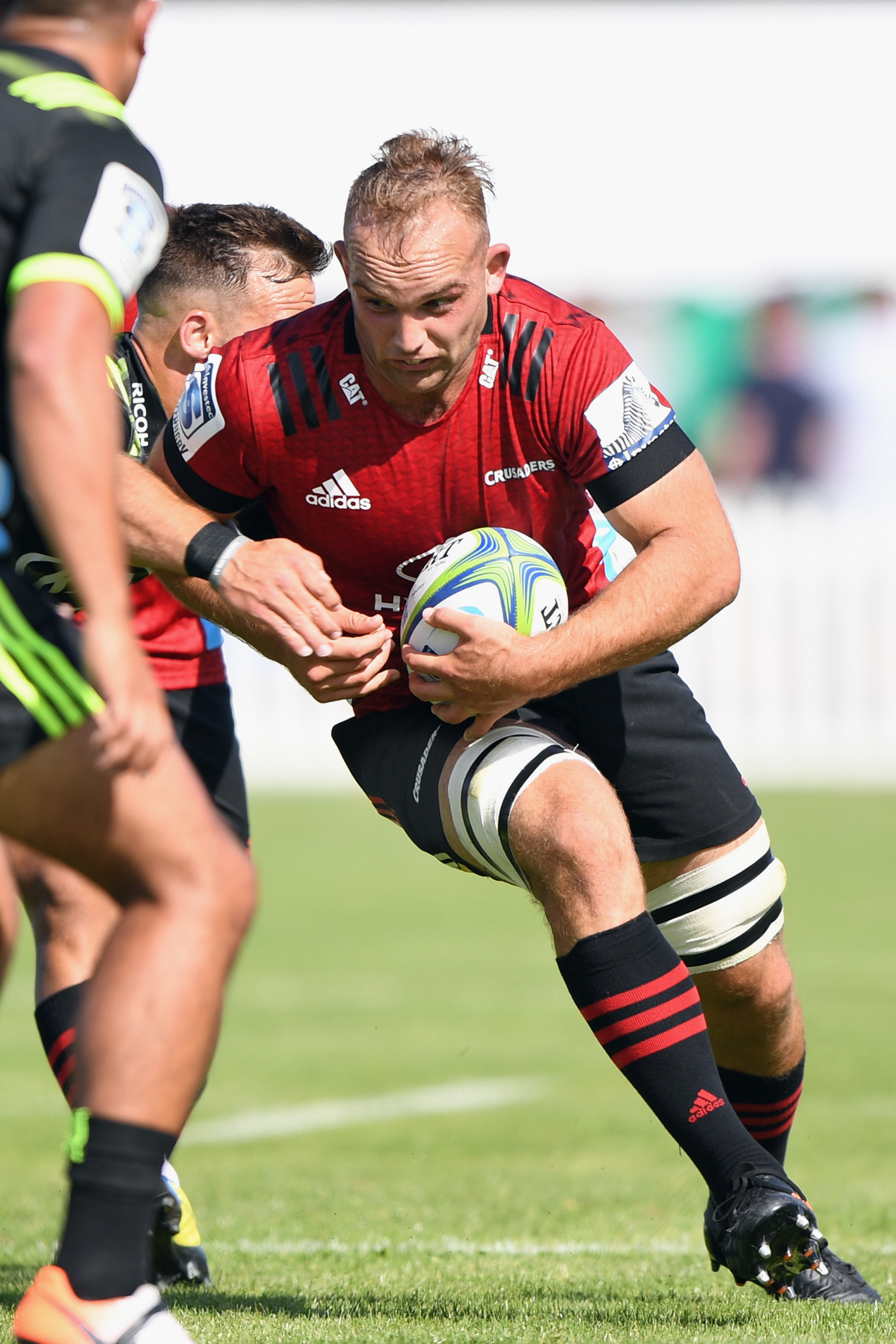 Flanker Tom Christie will push his case for the Crusaders' No 7 jersey when the season begins due...