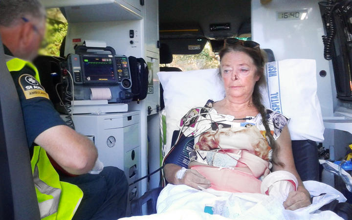 Pamela Coleman says she suffered broken ribs, a concussion, and had glass in her knees after the...