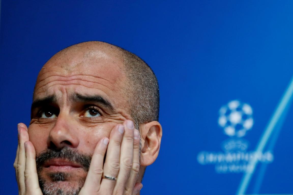 Manchester City manager Pep Guardiola. Photo: Reuters