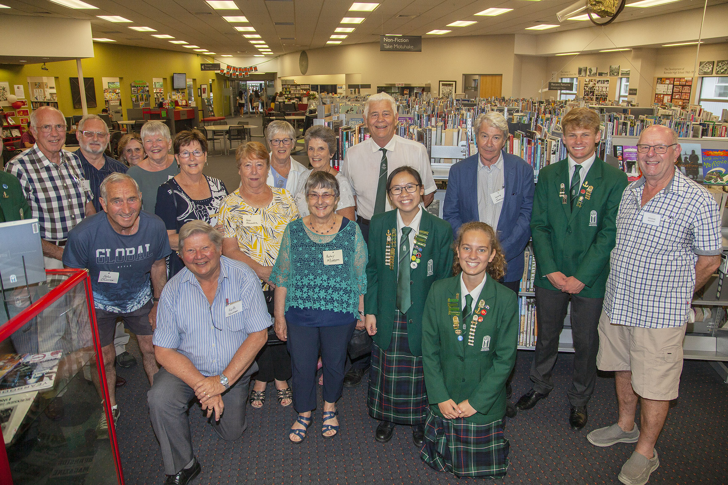 Former and current students celebrated the school's significant milestone. Photo: Geoff Sloan