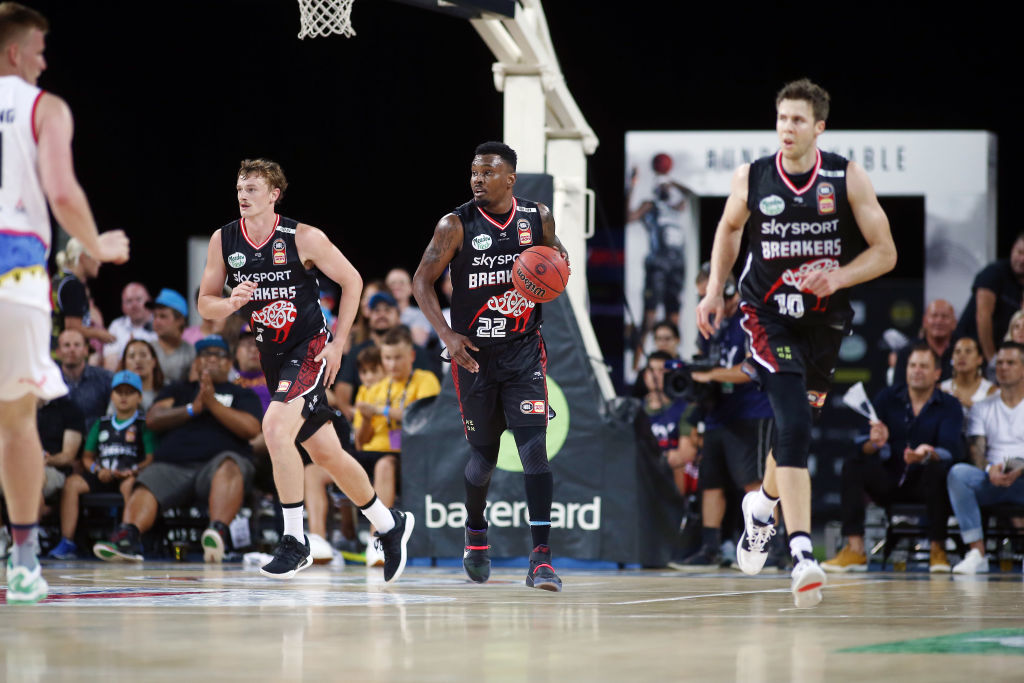 Breakers v South East Melbourne Phoenix tips of at 7.30pm on Friday at Horncastle Arena. Photo:...