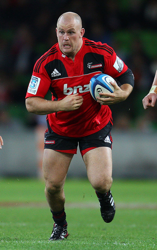 Ben Franks played for the Crusaders between 2006 and 2012. Photo: Getty Images