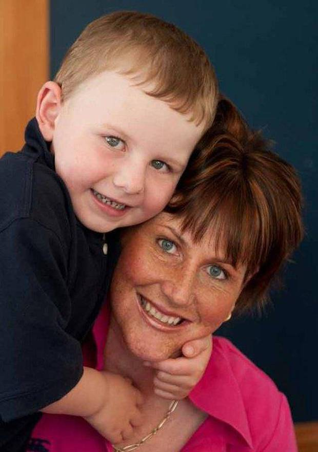 Hamish Crossan received a liver transplant from his mother Tracy Crossan. Photo: Supplied