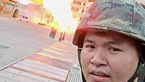 The Thai gunman live streamed his attack. Photo: Supplied