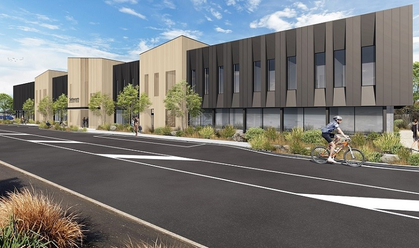 Work on the new Rolleston health hub will start next month. Photo: Selwyn District Council