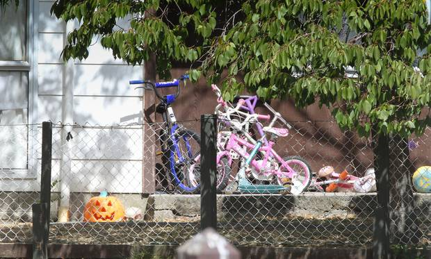 The house where the four year-old was brutally bashed to within an inch of his life. Photo: NZ...