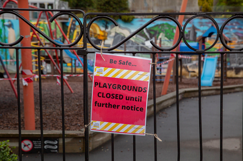 Lyttelton playground and skate park is closed.