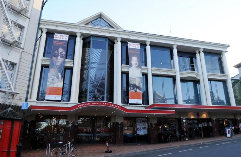 The Dunedin Public Art Gallery is one of the facilities to close.
