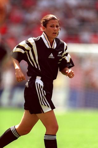 Former Football Ferns defender Kelly Almond-Jarden played 13 times for New Zealand. Photo: Getty...