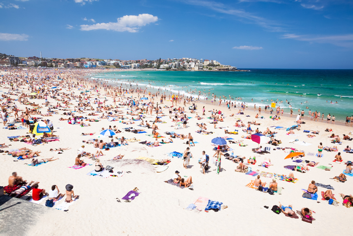 Bondi Beach in Sydney. Photo: Getty