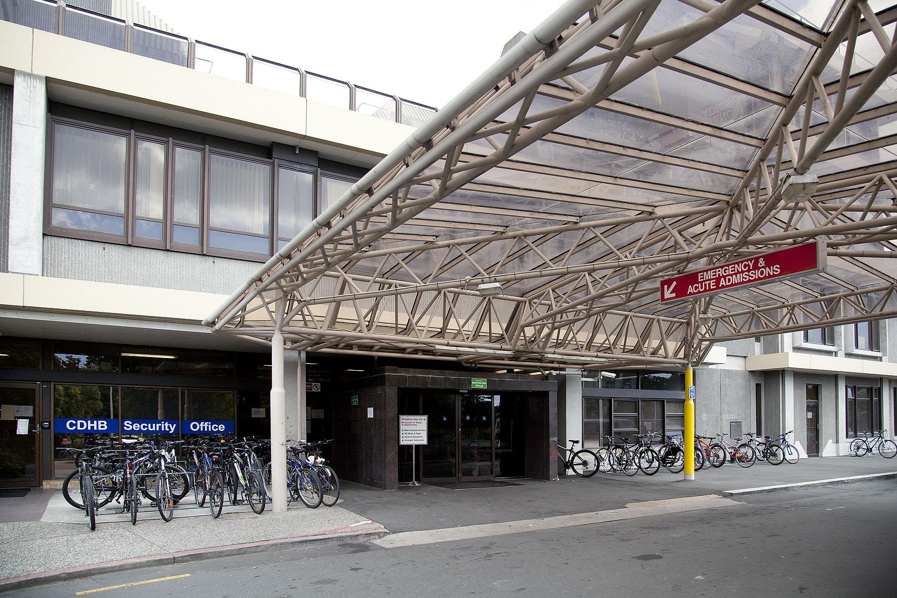 Christchurch Hospital Emergency Department. Photo: Geoff Sloan