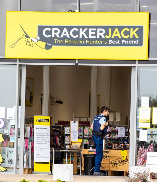 Crackerjack in Hamilton was open for walk-in customers this morning. Photo: NZ Herald