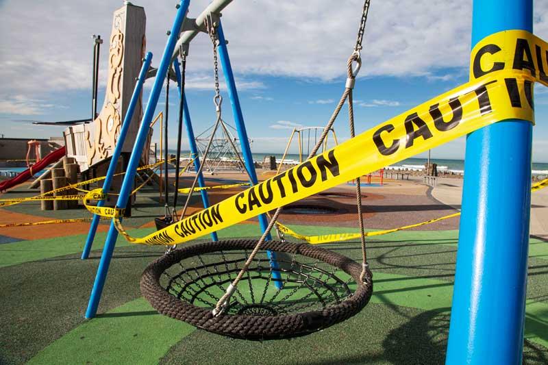 New Brighton Beachside Playground.