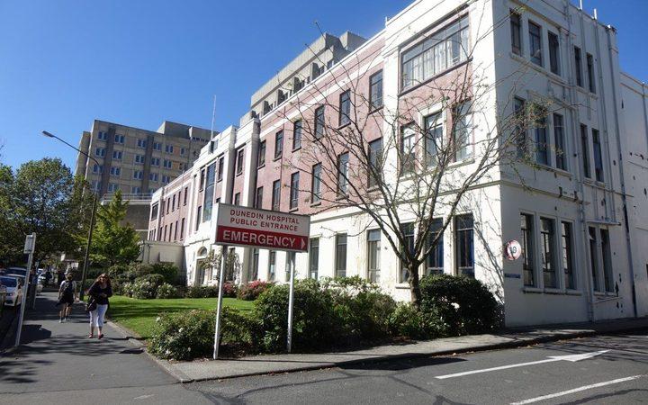 Dunedin Hospital. Photo: RNZ
