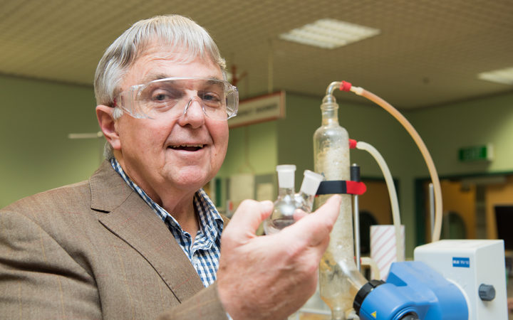 Professor Peter Tyler has won the 2017 MacDiarmid Award for his work discovering new drugs.Photo:...