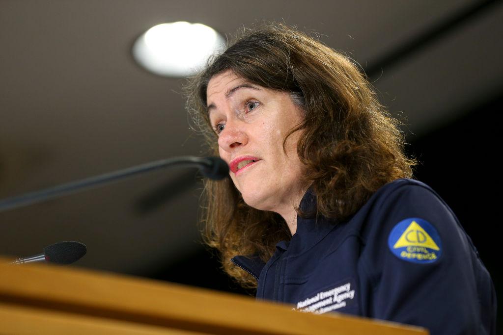 Director of Civil Defence Emergency Management Sarah Stuart-Black. Photo: Getty