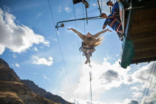 """Queenstown's Canyon Swing is giving away swings for deserving """"good buggers"""", chosen by the most..."""