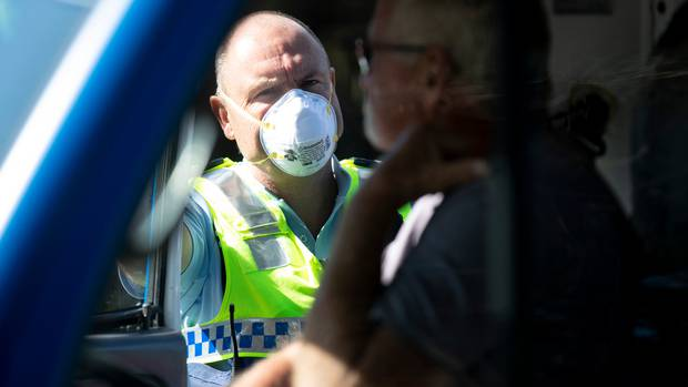A new law has been passed to allow the rules of alert levels to be enforced. Photo: NZ Herald