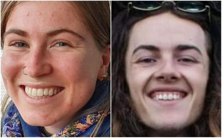 Jessica O'Connor and Dion Reynolds. Photo: NZ Police