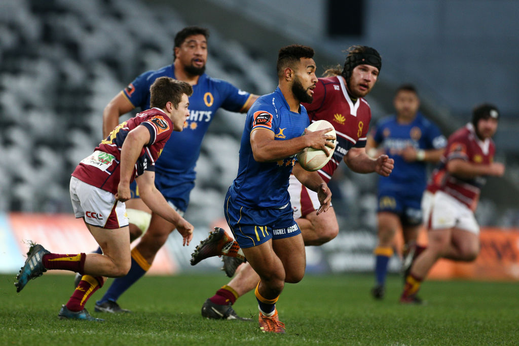 Otago and Southland in Mitre 10 Cup action at Forsyth Barr Stadium in Dunedin last year. Photo:...