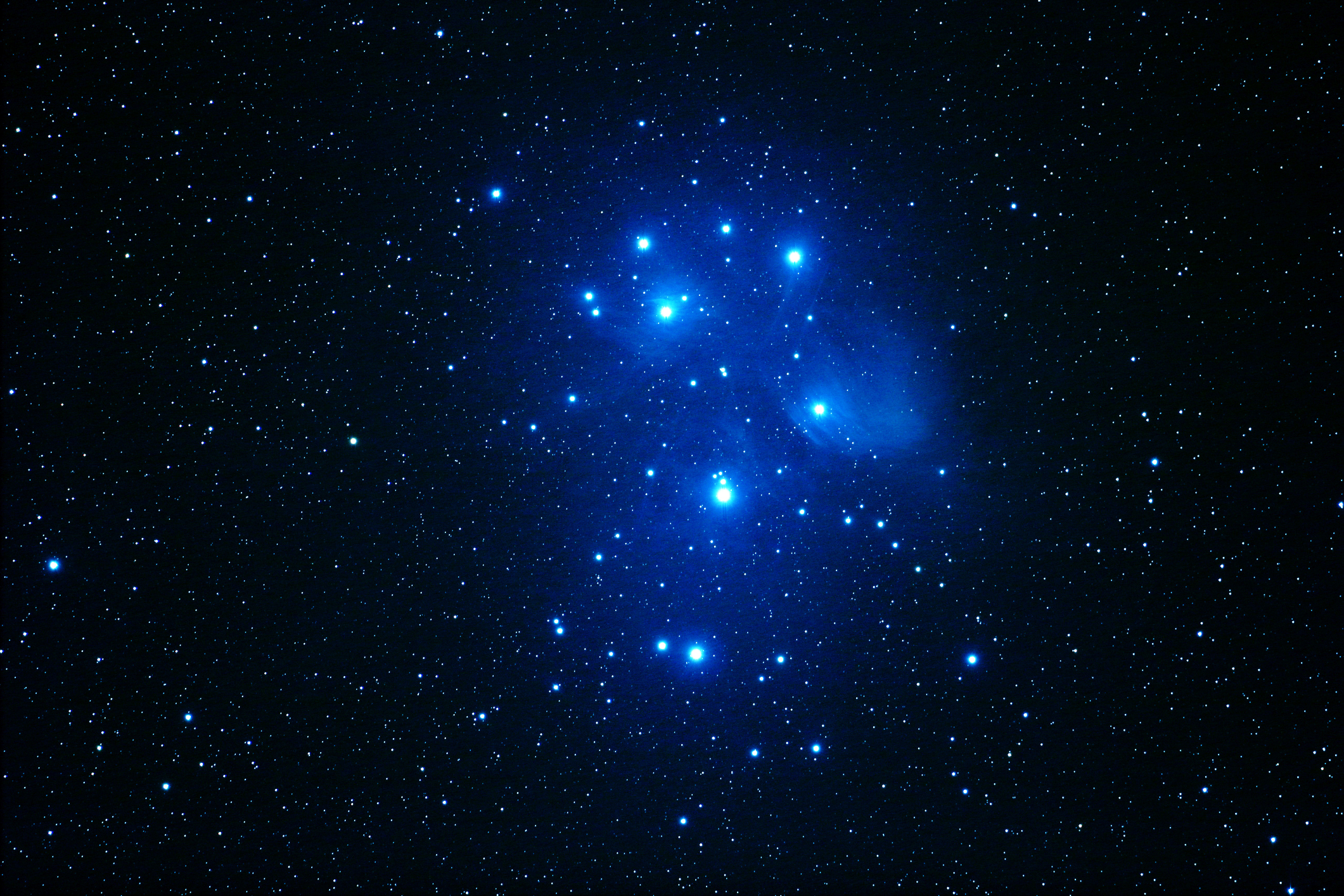 Matariki is the name for the cluster of stars known as the Pleiades. Photo: File